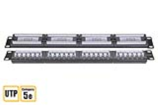 پچ پنل 24 پورت CAT5e UTP نت پلاس - NETPlus CAT5e RJ45 Unshielded Patch Panel