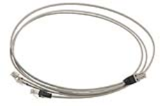 پچ کورد مسی CAT7 GG45 نگزنس - LANmark-7 Splitter Patch Cord GG45 LSZH