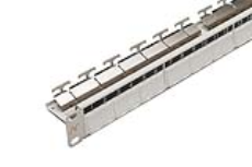 پچ پنل 24 پورت ثابت - Patch Panel 24 Snap-In Fixed White
