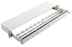 پچ پنل 24 پورت متحرک - Patch Panel 24 Snap-In Sliding White