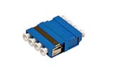 آداپتور فیبر نوری LC-LC SM Quad - Fiber Optic Adapter, LC-LC SM Quad