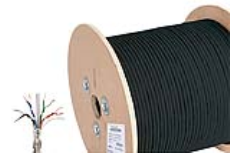 کابل شبکه مسی CAT6 SFTP Outdoor یونیکام - UNICOM CAT6 SFTP Outdoor