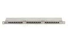 پچ پنل 24 پورت CAT6 High Density شیلددار یونیکام - UNICOM, CAT6 24 Port High Density Shielded Patch Panel