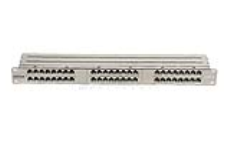 پچ پنل 48 پورت CAT6 High Density شیلددار یونیکام - UNICOM, CAT6 48 Port High Density Shielded Patch Panel